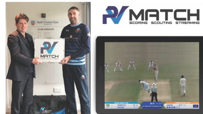 New PitchVision Match Set Delights Bath CC