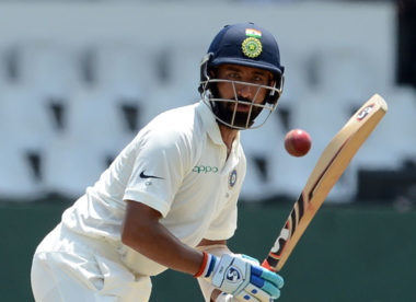 India struggle on second day curtailed by rain