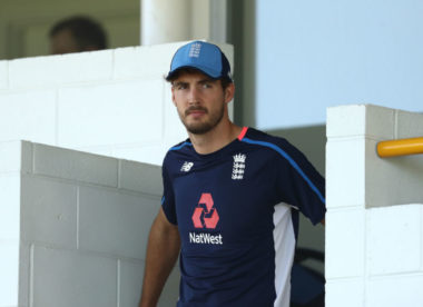 Steven Finn heading home from Ashes with knee injury