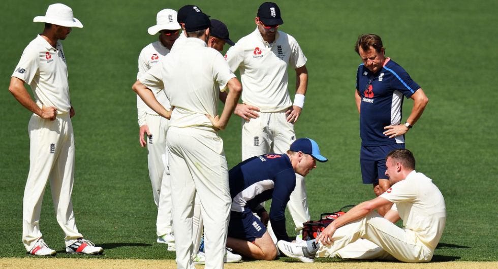 Ashes Injury List