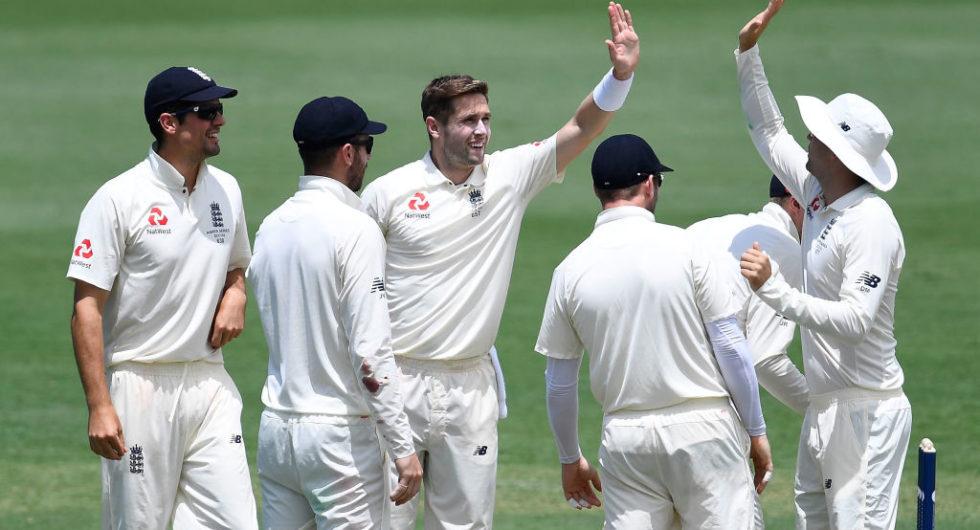 Chris Woakes England vs Cricket Australia