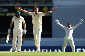 Stuart Broad First AShes Test, Gabba