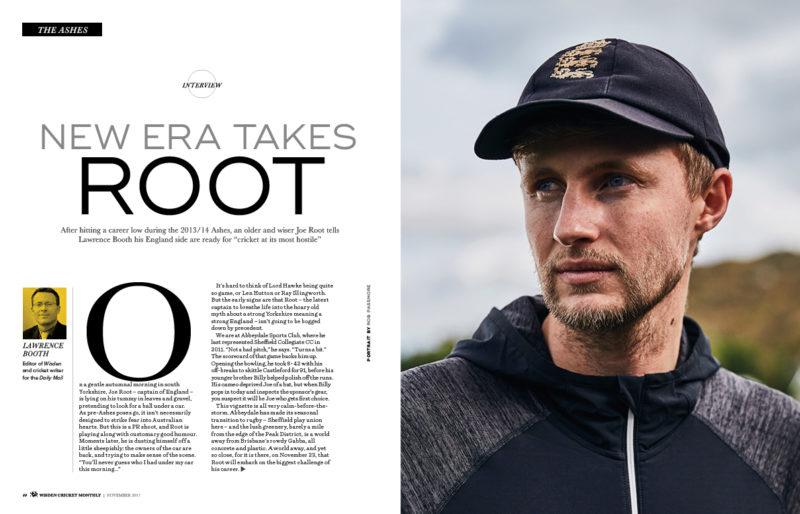Joe Root exclusive interview