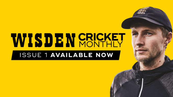 Wisden Cricket Monthly is back: new issue out November 16