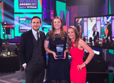 England Women collect Team of the Year award following World Cup triumph