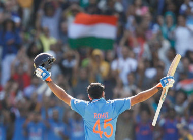 Rohit Sharma hits third ODI double century in India win