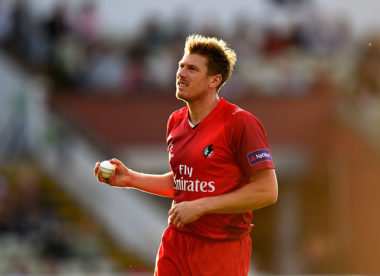 Lancashire confirm Faulkner return for 2018 T20 Blast
