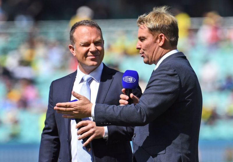 Ashes Ball-Tampering Row Warne and Slater