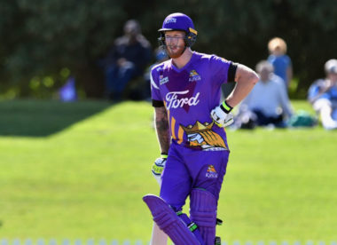 Ben Stokes hits 93 off 47 for Canterbury