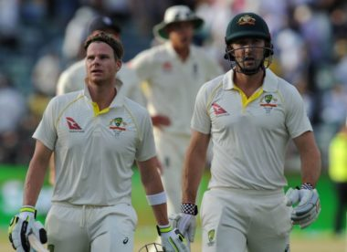 Smith helps Australia halve deficit after England collapse again
