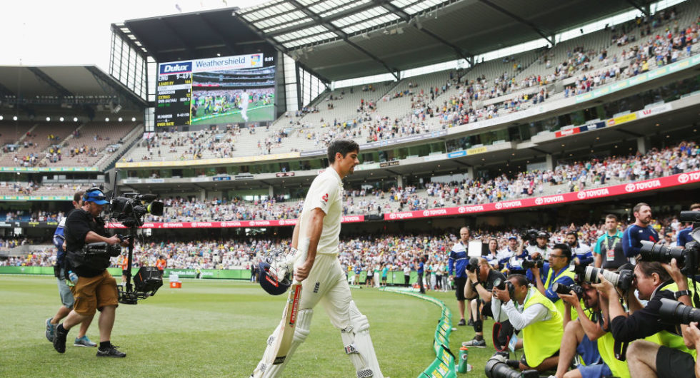 Alastair Cook's record-breaking day