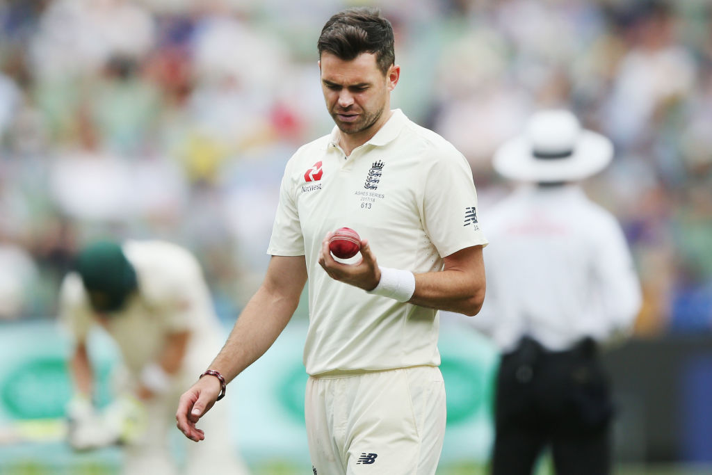 Jimmy Anderson Ball-Tampering