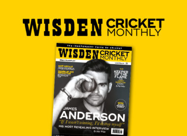 Wisden Cricket Monthly issue 2: James Anderson's most revealing interview yet