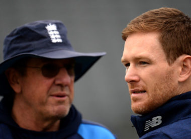 Eoin Morgan: Changes in cricket mean one-coach model could soon be outdated