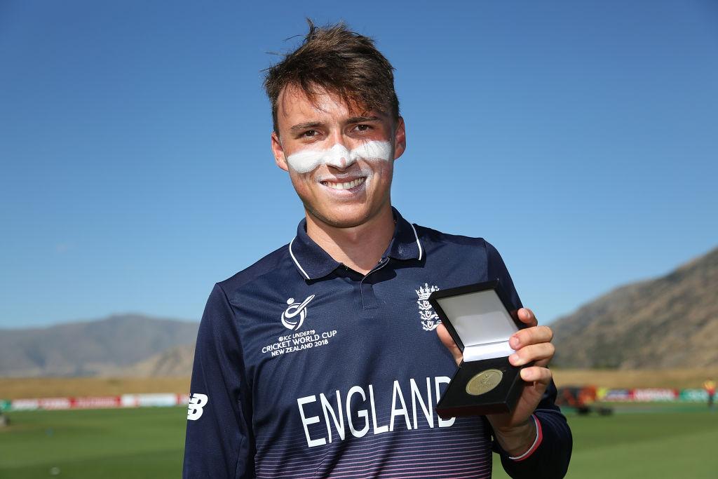 Tom Banton England U19s