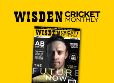 Wisden Cricket Monthly issue 3: AB de Villiers exclusive interview