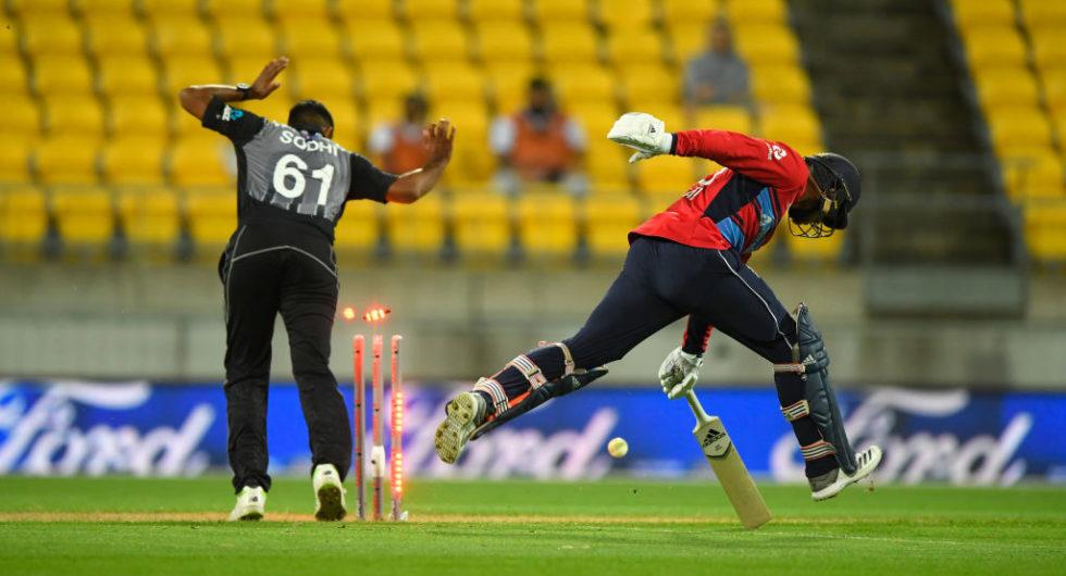 England v New Zealand Tri-SEries Match Report