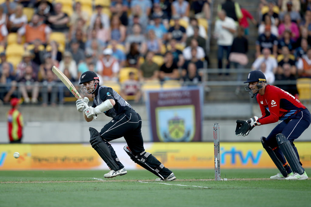 Kane Williamson top-scored for New Zealand with 72