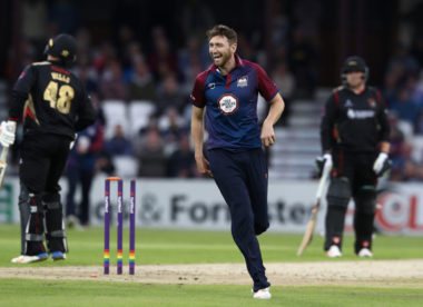 Northants quick Richard Gleeson called up by England Lions for West Indies tour