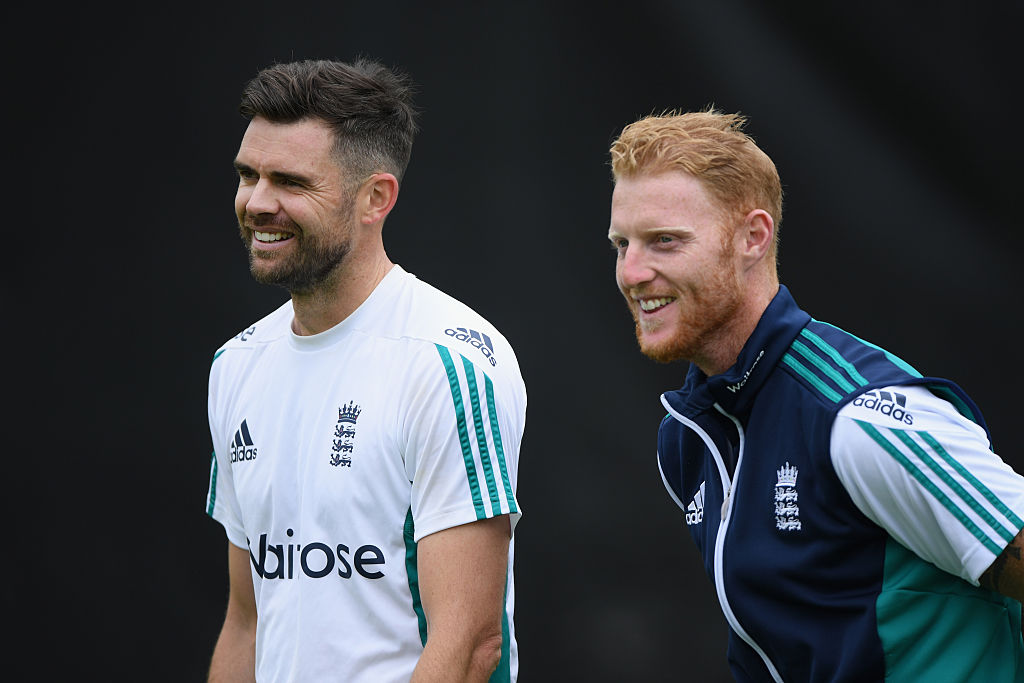 James Anderson and Ben Stokes