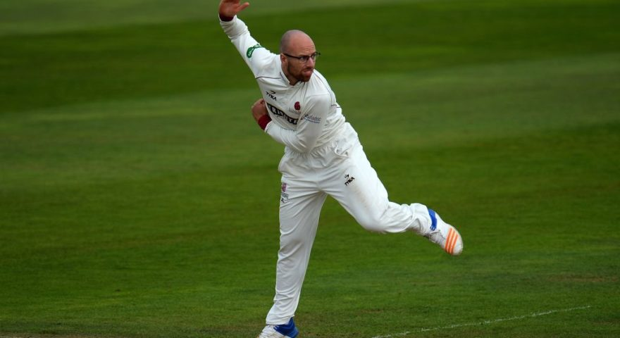 Jack Leach replaces injured Mason Crane in England Test squad