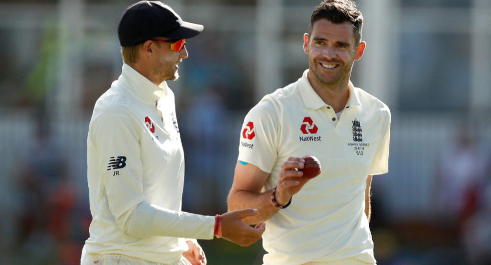 James Anderson Retains England Vice-Captaincy