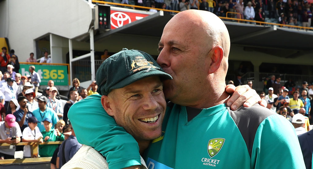 David Warner Darren Lehmann