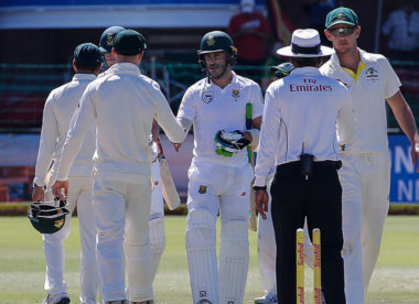 South Africa level ill-tempered series 1-1