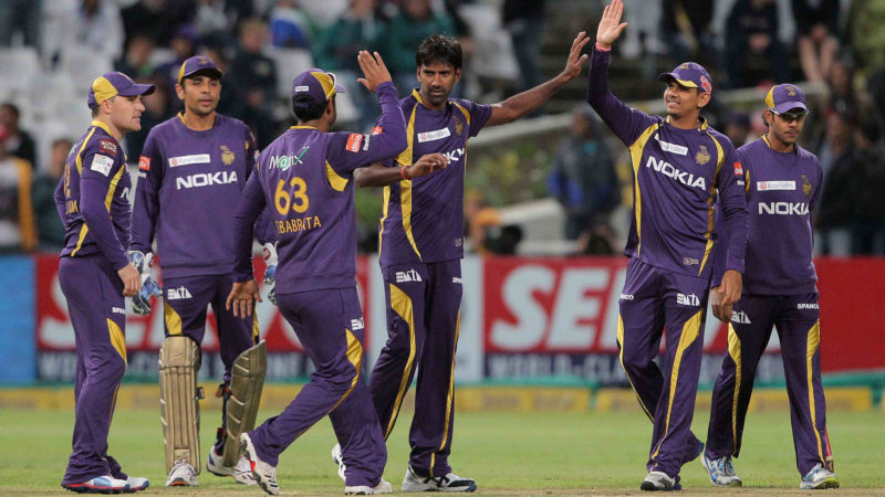 Kolkata Knight Riders were the IPL champions in 2012 and 2014