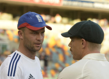 Jonathan Trott gives David Warner a hilarious send-off