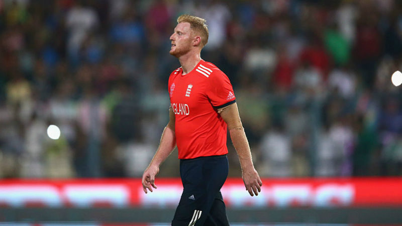 Stokes was one of three Englishmen on the field