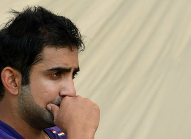 'Maybe I just couldn't handle the pressure' — Gautam Gambhir