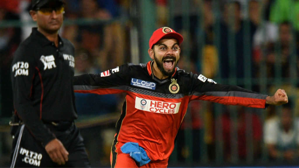 Kohli has led Bangalore to just two wins in six games this IPL season so far