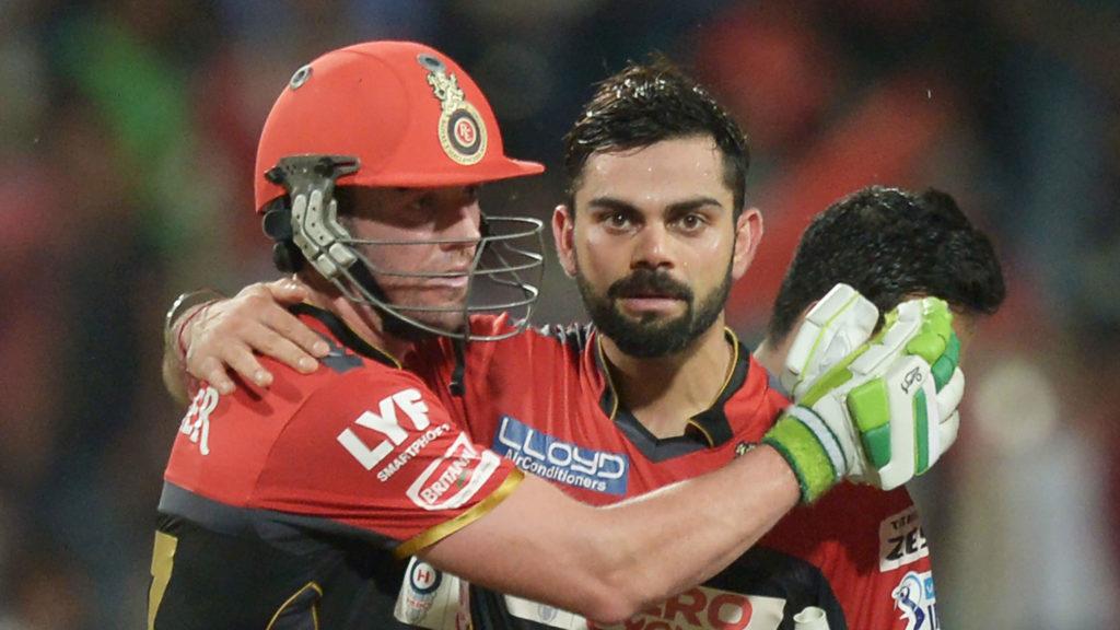 """The bulk of scoring responsibility and stress shouldnt be on a guy like AB"" - Kohli"
