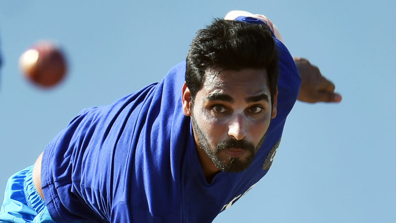 Bhuvneshwar Kumar bowled an excellent final over defending 12 runs