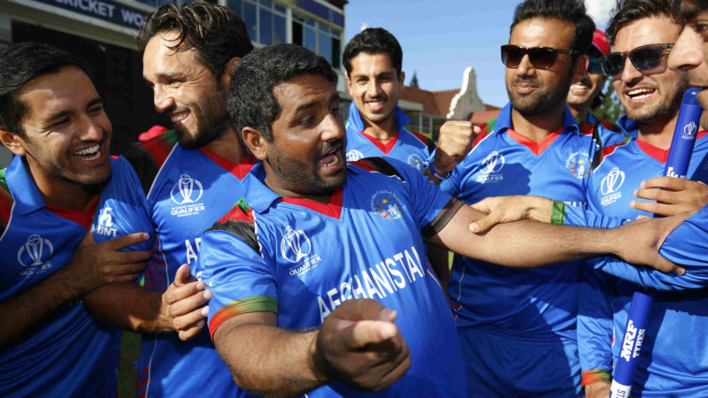 Shahzad played a big part in Afghanistans victory in the World Cup Qualifier final