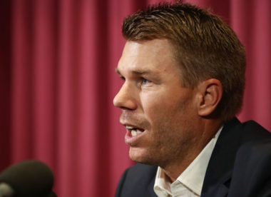 David Warner accepts 12-month ban imposed by Cricket Australia