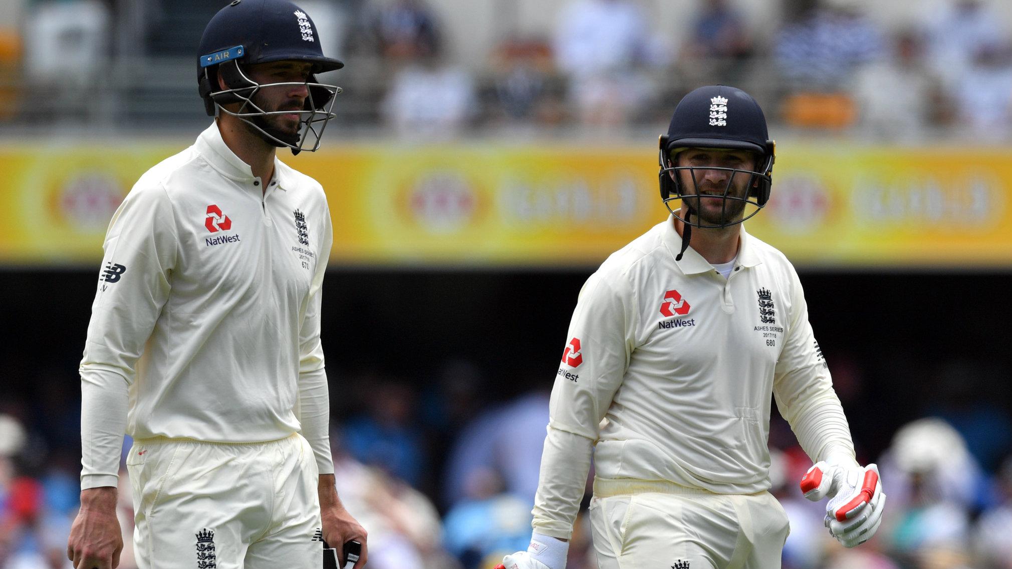 <em> Mark Stoneman and James Vince have averaged 30.17 and 24.90 respectively in Test cricket. </em>