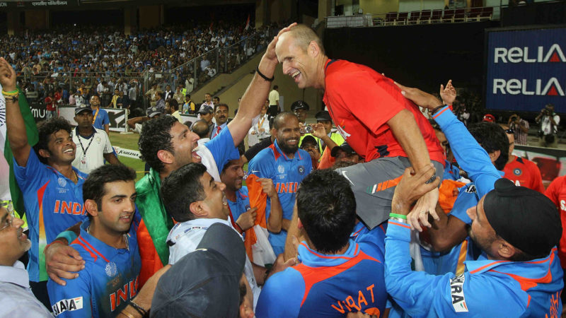 Kirsten was the coach when India won the 2011 World Cup