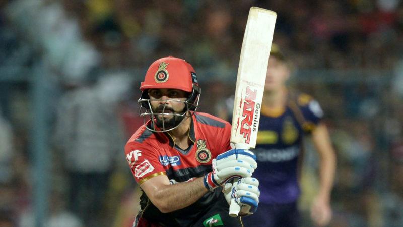 Kohli scored 530 runs from 14 games in IPL 2018