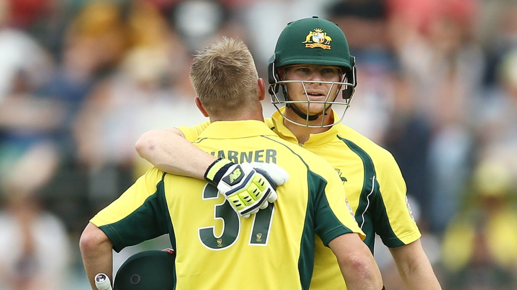 Steve Smith and David Warner are out serving bans