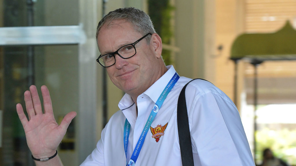 Tom Moody and other overseas candidates will be interview via video conference