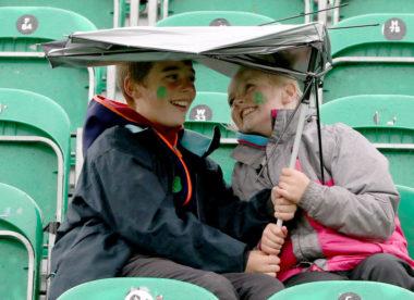 Wet weather fails to dampen Irish pride