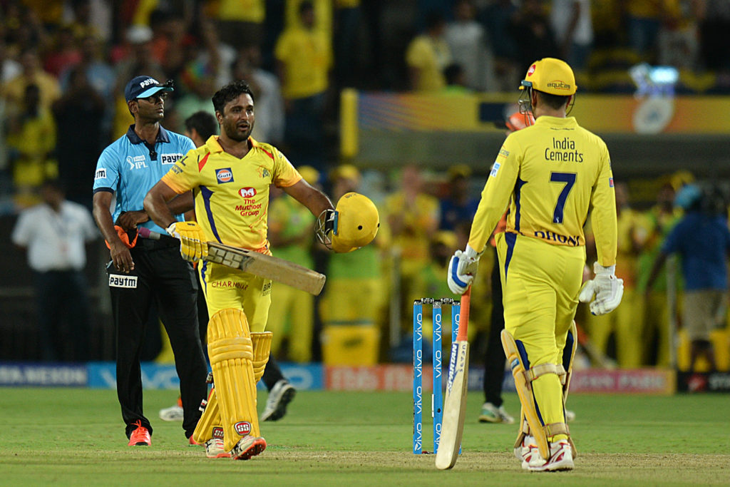Ambati Rayudu was among many Chennai players over 30 in impressive form