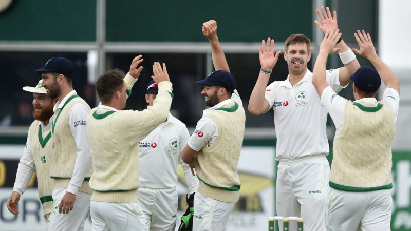 Ireland reduced Pakistan to 14-3 in their second innings