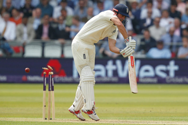 Cook was bowled by a beauty from Mohammad Amir after scoring 70