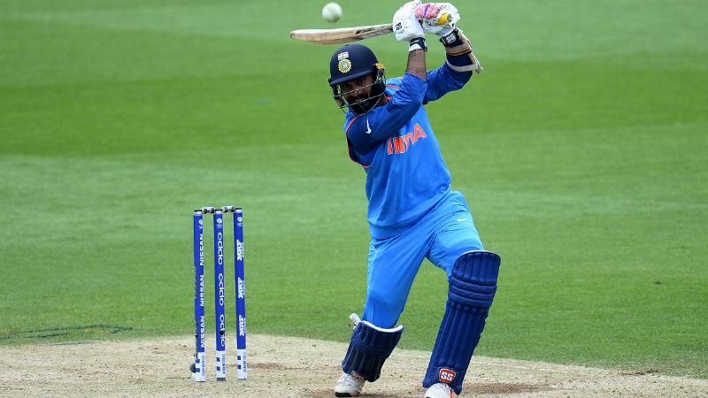 Dinesh Karthik scored a crucial 38-ball 52 to help Kolkata recover
