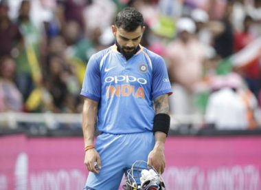 'The guys were just not up to the mark' – Virat Kohli