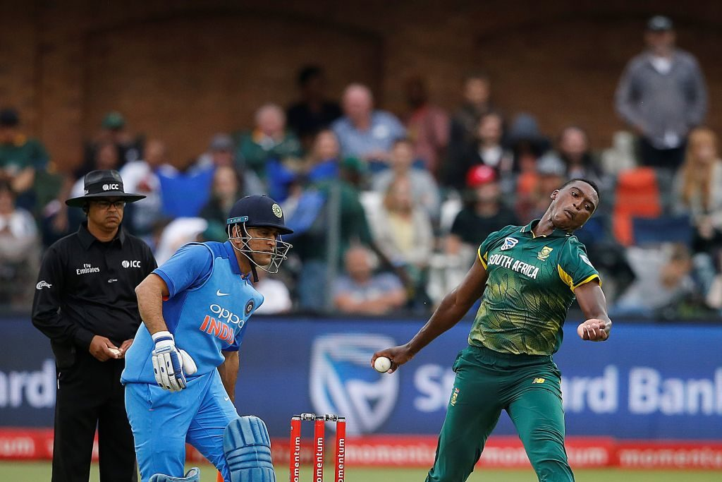 Lungi Ngidi said MS Dhoni and the Chennai management had helped him adapt
