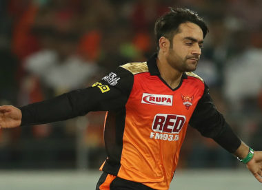 Rashid Khan spins Sunrisers Hyderabad to the top of the table